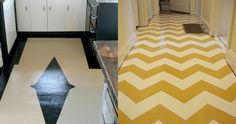 painted linoleum floor - Google Search