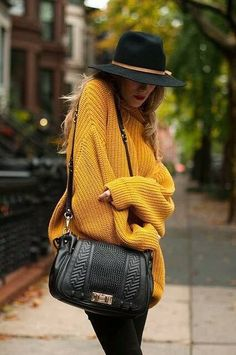 #hat #jumper #bag