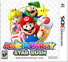 Shop for Mario Party Star Rush - Nintendo Get free delivery On EVERYTHING* Overstock - Your Online Game Systems Outlet Store! Kirby Nintendo, Super Nintendo, Nintendo 3ds Games, Nintendo Switch, Wii Games, Playstation, Xbox, Super Smash Bros, Super Mario Bros