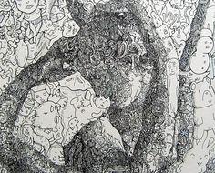 Keita Sagaki's Doodles Turn Into Classic Works of Art   Beautiful/Decay Artist & Design