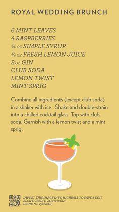 Brunch Cocktails Fun Ideas For 2019 Drink Bar, Liquor Drinks, Cocktail Drinks, Cocktail Recipes, Alcoholic Drinks, Beverages, Alcohol Drink Recipes, Gin Recipes, Brunch Wedding