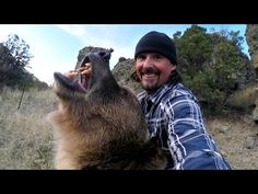 This will change your mindset, toward Grizzly Bears.  Great video . Man and Grizzly Bear - Rewriting History - YouTube