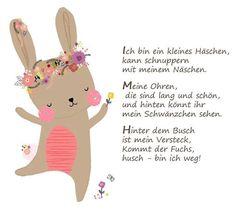 Easter Bunny Easter Poem Kindergarten Educator Kita Childrens Education Rhyme Source by elanikoll