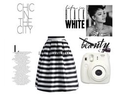 """""""Life in black white"""" by wa-m-cy on Polyvore featuring Chicwish"""