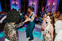 Disco Theme Wedding Welcome Party / Rehearsal Dinner Costume Party Disco Theme Parties, 70s Party, Disco Party, Welcome To The Party, Wedding Welcome, Our Wedding, Queen Birthday, 50th Birthday Party, Costume Party Themes