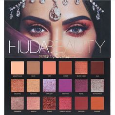 Beauty guru and entrepreneur Huda Kattan blends her makeup expertise and with her debut Huda Beauty Eyeshadow Palette - Rose Gold Edition. Instantly bring light and warmth to your look with Huda's go-to palette. Huda Beauty Eyeshadow, Huda Beauty Rose Gold, Beauty Make-up, Beauty Skin, Makeup Brands, Drugstore Makeup, Makeup Cosmetics, Makeup Products, Benefit Cosmetics