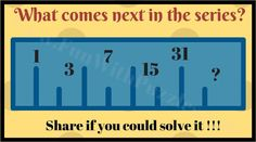 Number Series Maths Puzzle
