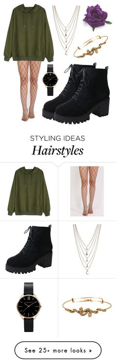 """Untitled #443"" by hampster12 on Polyvore featuring Ettika, Pilot and Alex and Ani"