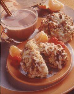 Cinnamon Bun Scones - Recipe   http://www.quakeroats.com/