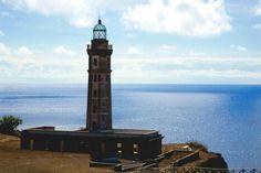 Capelinhos lighthouse, Faial island, Azores - A lighthouse not often seen