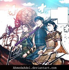 shin-manga kingdom-coloring  by : ahmedxadel