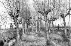 Saldrán a la luz dibujos inéditos de Van Gogh