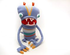 Mythical Cotton Monsters are handmade with adorable recycled fabrics : TreeHugger