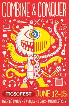 MoSo Poster by Chad Geran, via Behance