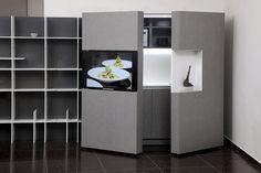 Pop-up kitchen PIA: a cozinha perfeita para casas pequenas - limaonagua