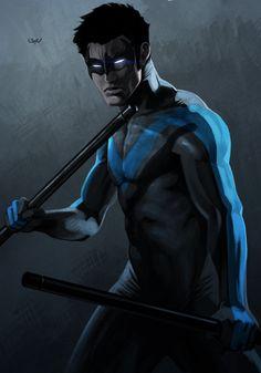 -- Nightwing -- by *wyv1