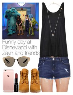 """""""Funny day at Disneyland with Zayn and friends."""" by welove1 ❤ liked on Polyvore featuring Calvin Klein Underwear, Topshop, Timberland, Smashbox, Christian Dior, women's clothing, women, female, woman and misses"""
