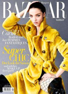 Harper's Bazaar Germany September 2014