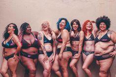 Nova marca brasileira cria lingeries para todos os tipos de corpos