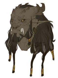 Male orc concept. by harleart.deviantart.com on @DeviantArt