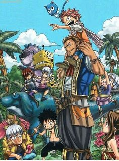 Fairy Tail go to the jungle:)