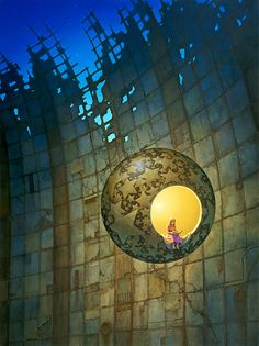 Michael Whelan, In a World of Her Own