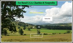 Free Websites for rural U.S. charities & nonprofits. http://ruralcharities.org/ #RuralAmerica #Charities #Nonprofits