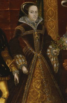 Mary I (detail) Allegory of the Tudor Succession, c.1590