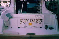 Sun Daze #boatname #seattle