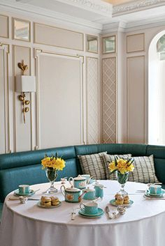 The Diamond Jubilee Tea Salon at London's Fortnum & Mason is a lovely place to take afternoon tea