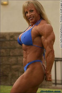 Muscular women being fucked