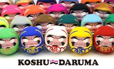 Daruma dolls now in 30 different colors to decorate your homes and bring you good luck ‹ Japan Today: Japan News and Discussion