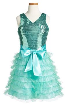 Un Deux Trois Tiered Ruffle Dress (Big Girls) available at #Nordstrom