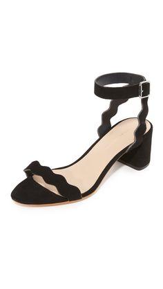 Loeffler Randall Women's Emi City Sandals, Black, 5 B(M) US. 8802826. Open Footwear.