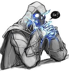 You're thinking too much about Ziio. Character Concept, Character Art, Character Design, Ghost Assassin, Spirit Of Vengeance, Assassins Creed Art, Ghost Rider Marvel, Space Artwork, Scary Art