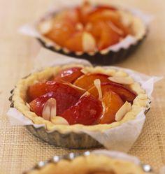 Tartelettes aux abricots - les meilleures recettes de cuisine d'Ôdélices