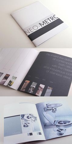 Great design from a creative and business goal perspective. Metallic colors mirror the product, and lovely, large white spaces emphasize and draw attention to product features.