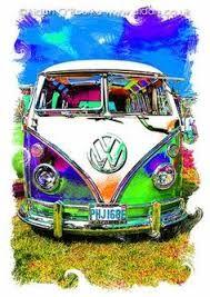 Image result for vw bus art