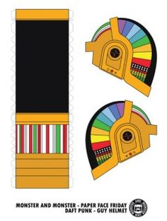 Blog_Paper_Toy_papercraft_Daft_Punk_Helmets_Guy_template_preview