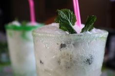 Mojitos are the perfect combination of a little sweet and a little sour, I've upped the anti by turning the classic mojito into a float. Be warned, these things are tasty! Dessert Drinks, Desserts, Ice Cream Drinks, Lime Sherbet, Mojito, Cocktails, Tasty, Vegan, Cooking