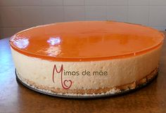 ♥ Mimos de Mãe ♥: Semifrio de Ananás Chocolate, Pie Dish, Cheesecakes, Coco, Dog Bowls, Food Inspiration, Sweet Treats, Food And Drink, Sweets