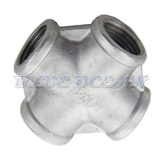 "Homebrew Hardware Pump Fitting Cross 1/2""Npt Thread Female Coupling Connector"