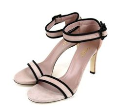 650-New-Authentic-GUCCI-Suede-Sandal-w-Ankle-Strap-Winter-Rose-311382-6877