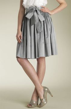 cluster pleats