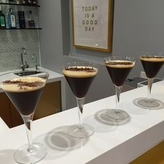 Double Espresso martini all done. Friday's drinks with our friends Uptown Local, from the Kennedy Jewellers Bar. Friday Drinking, Double Espresso, Espresso Martini, Bar Lounge, V60 Coffee, Coffee Maker, Jewels, Coffee Maker Machine, Coffee Percolator