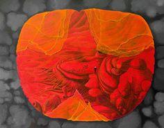 """""""Guardian"""" acrylic/Oil on canvas"""