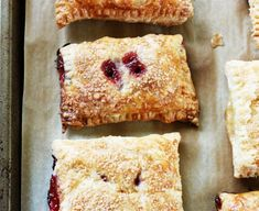 You can use any fruit you have available for these pies, or even mix and match within the fillings.