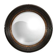 25.5 Manning Round Mirror in Black