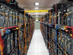 One of the most memorable moments of Honors BIS was the privilege of touring the TCU Data Center within Sid Richardson Building.  Although this is not a picture of the room, the picture conveys the number of servers and wires that were present in the room. This experience was an excellent opportunity to see a real-world example of how technology impacts student and academic life at TCU.  With Bryan Lucas, the class explored some of the issues and limitations of current technology.