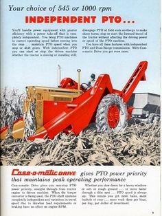 Yesterday's Tractors - Tractor Pictures - - - Old Tractor Ads
